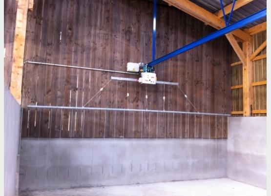 Jeannet Débit installation DeLaval 80 VL
