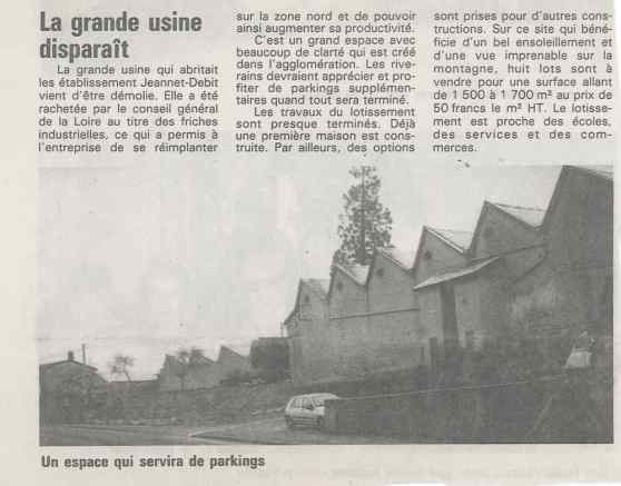 Article de journal de 1994