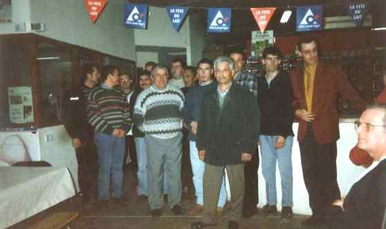 Départ en retraite de Maurice Débit (2001)